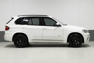 2012 BMW X5 E70 MY12 Upgrade xDrive 40d Sport White 8 Speed Automatic Sequential Wagon