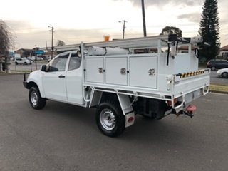 2013 Isuzu D-MAX TF MY12 SX (4x4) White 5 Speed Manual Space Cab Chassis.