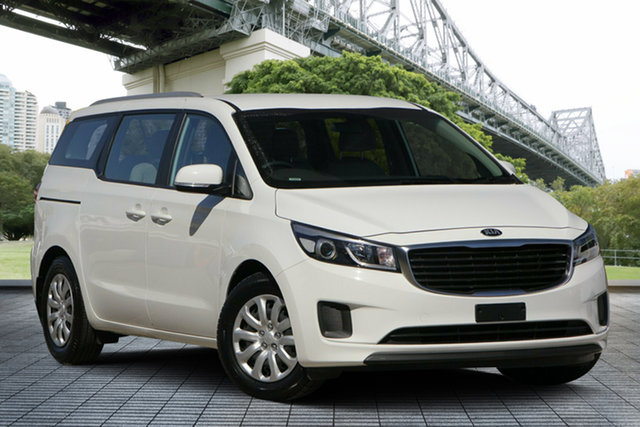 Used Kia Carnival YP MY17 S, 2017 Kia Carnival YP MY17 S White 6 Speed Sports Automatic Wagon