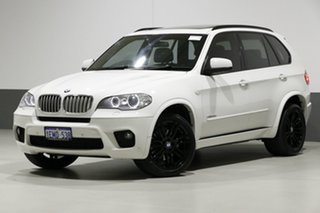 2012 BMW X5 E70 MY12 Upgrade xDrive 40d Sport White 8 Speed Automatic Sequential Wagon.