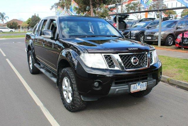 Used Nissan Navara D40 MY12 ST (4x4), 2013 Nissan Navara D40 MY12 ST (4x4) Black 6 Speed Manual Dual Cab Pick-up