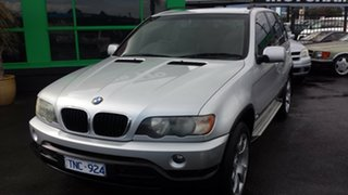 2003 BMW X5 E53 Steptronic Silver 5 Speed Sports Automatic Wagon