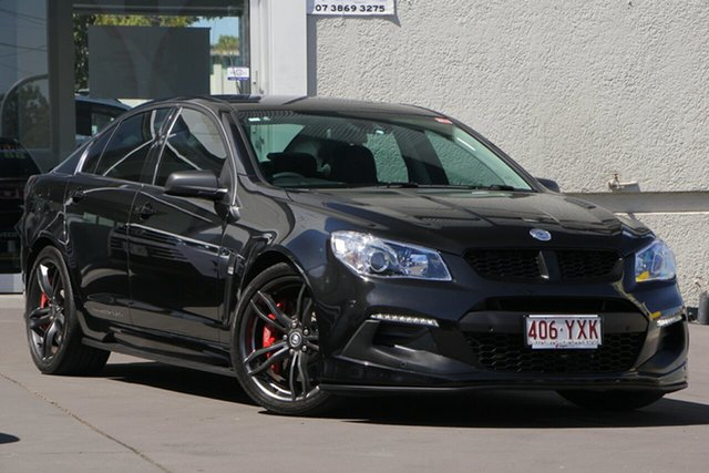 Used Holden Special Vehicles ClubSport Gen-F2 MY16 R8 LSA, 2015 Holden Special Vehicles ClubSport Gen-F2 MY16 R8 LSA Black 6 Speed Manual Sedan