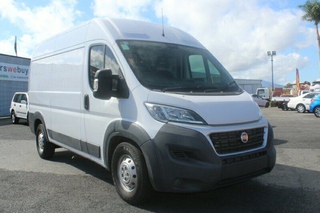 Used Fiat Ducato Series 4 Mid Roof MWB Comfort-matic, 2016 Fiat Ducato Series 4 Mid Roof MWB Comfort-matic White 6 Speed Sports Automatic Single Clutch