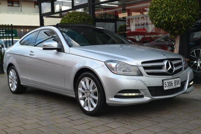 Used Mercedes-Benz C-Class C204 C180 7G-Tronic + Avantgarde, 2014 Mercedes-Benz C-Class C204 C180 7G-TRONIC + Avantgarde 7 Speed Sports Automatic Coupe