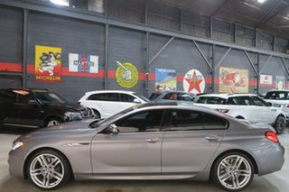2013 BMW 6 Series F06 MY1112 650i Gran Coupe Steptronic Grey 8 Speed Sports Automatic Sedan