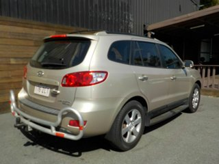 2007 Hyundai Santa Fe CM MY08 Elite Gold 5 Speed Sports Automatic Wagon.