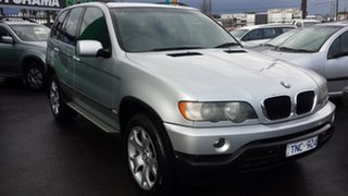 2003 BMW X5 E53 Steptronic Silver 5 Speed Sports Automatic Wagon.