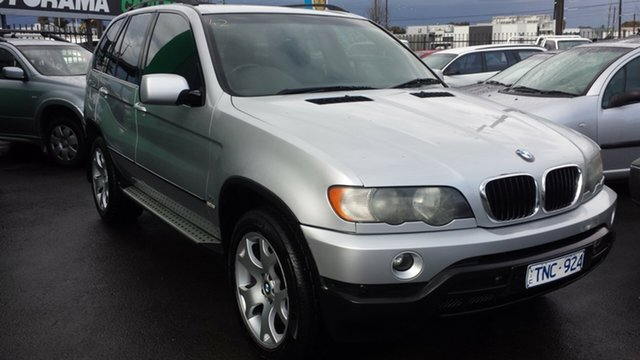 Used BMW X5 E53 Steptronic, 2003 BMW X5 E53 Steptronic Silver 5 Speed Sports Automatic Wagon