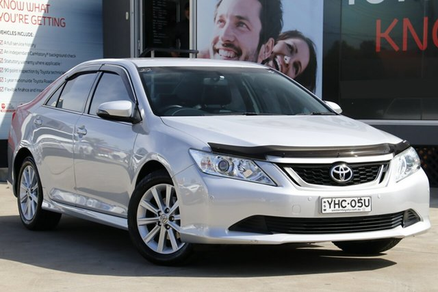 Used Toyota Aurion GSV50R MY16 AT-X, 2016 Toyota Aurion GSV50R MY16 AT-X Silver 6 Speed Automatic Sedan