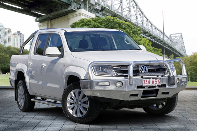 Used Volkswagen Amarok 2H MY16 TDI420 4Motion Perm, 2016 Volkswagen Amarok 2H MY16 TDI420 4Motion Perm White 8 Speed Automatic Utility