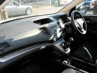 2013 Honda CR-V RM VTi White 6 Speed Manual Wagon