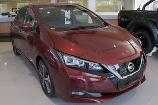 2020 Nissan Leaf ZE1 Red 1 Speed Reduction Gear Hatchback