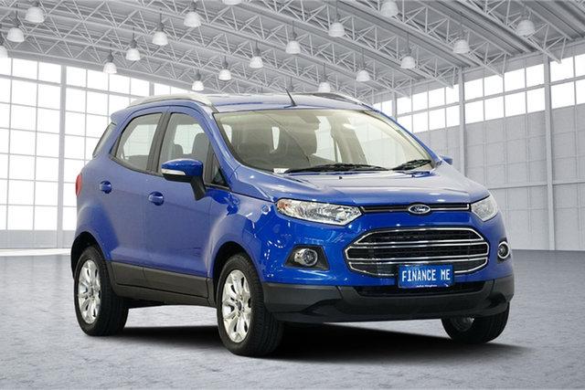 Used Ford Ecosport BK Titanium PwrShift, 2015 Ford Ecosport BK Titanium PwrShift Blue 6 Speed Sports Automatic Dual Clutch Wagon