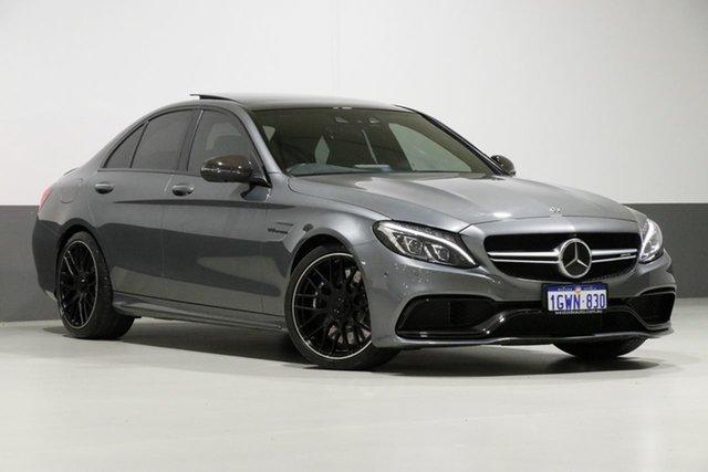 Used Mercedes-AMG C63 S C , 2017 Mercedes-AMG C63 S C Selenite Grey 7 Speed Automatic Sedan