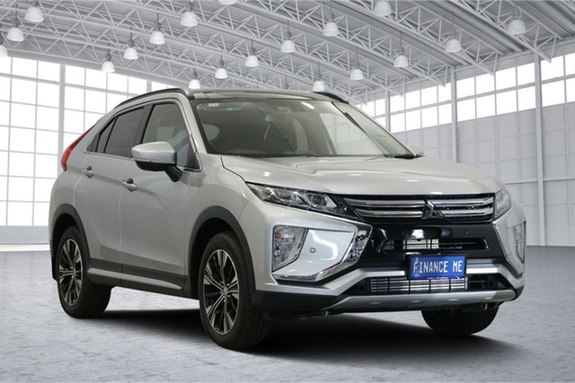 Used Mitsubishi Eclipse Cross YA MY19 Exceed 2WD, 2019 Mitsubishi Eclipse Cross YA MY19 Exceed 2WD Sterling Silver 8 Speed Constant Variable Wagon