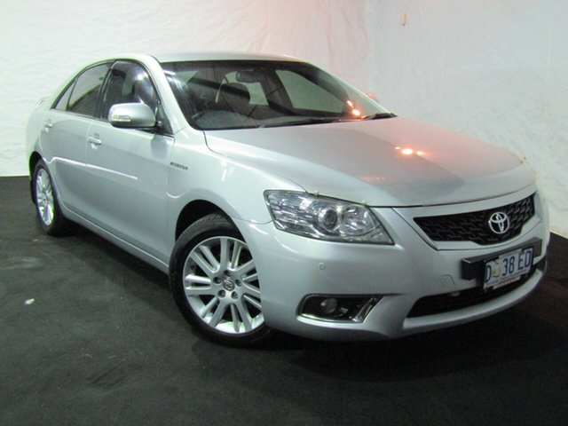 Used Toyota Aurion GSV40R MY10 Touring, 2011 Toyota Aurion GSV40R MY10 Touring Silver 6 Speed Sports Automatic Sedan