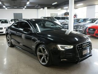 2012 Audi A5 8T MY13 S Tronic Quattro Black 7 Speed Sports Automatic Dual Clutch Coupe.