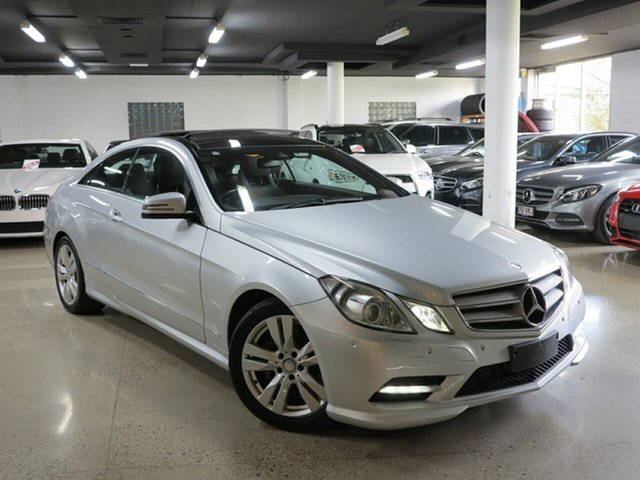 Used Mercedes-Benz E-Class C207 MY12 E250 CDI BlueEFFICIENCY 7G-Tronic + Avantgarde, 2013 Mercedes-Benz E-Class C207 MY12 E250 CDI BlueEFFICIENCY 7G-Tronic + Avantgarde Silver 7 Speed