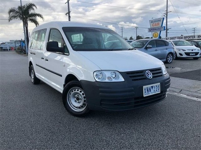 Used Volkswagen Caddy 2KN , 2009 Volkswagen Caddy 2KN White Sports Automatic Dual Clutch Van