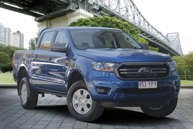 Used Ford Ranger PX MkIII 2019.00MY XLS Pick-up Double Cab, 2018 Ford Ranger PX MkIII 2019.00MY XLS Pick-up Double Cab Blue 6 Speed Sports Automatic Utility