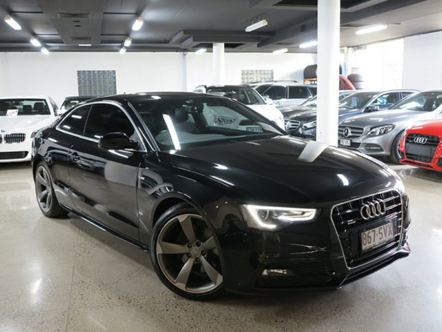 Used Audi A5 8T MY13 S Tronic Quattro, 2012 Audi A5 8T MY13 S Tronic Quattro Black 7 Speed Sports Automatic Dual Clutch Coupe