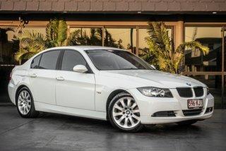 2007 BMW 323i E90 MY08 Steptronic White 6 Speed Sports Automatic Sedan.