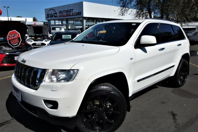 Used Jeep Grand Cherokee WK MY2011 Limited, 2010 Jeep Grand Cherokee WK MY2011 Limited White 5 Speed Sports Automatic Wagon