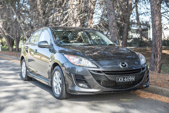 Used Mazda 3 BL10F1 Neo Activematic, 2010 Mazda 3 BL10F1 Neo Activematic Grey 5 Speed Sports Automatic Sedan