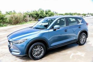 2018 Mazda CX-5 KF2W7A Maxx SKYACTIV-Drive FWD Sport Eternal Blue 6 Speed Sports Automatic Wagon.