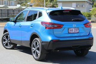 2019 Nissan Qashqai J11 Series 2 ST-L X-tronic Vivid Blue 1 Speed Constant Variable Wagon.