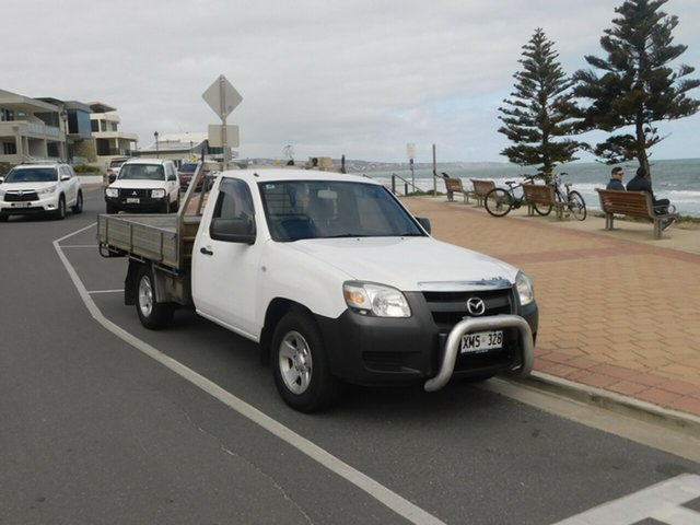 Used Mazda BT-50 UNY0W3 DX 4x2, 2007 Mazda BT-50 UNY0W3 DX 4x2 White 5 Speed Manual Cab Chassis