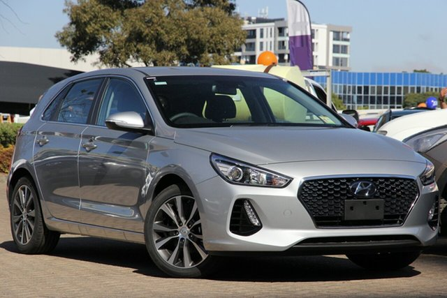 New Hyundai i30 PD2 MY20 Elite, 2020 Hyundai i30 PD2 MY20 Elite Typhoon Silver 6 Speed Sports Automatic Hatchback