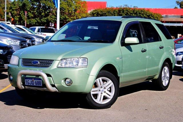 Used Ford Territory SY Ghia AWD, 2007 Ford Territory SY Ghia AWD Green 6 Speed Sports Automatic Wagon