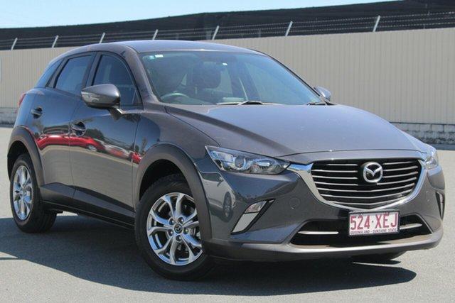 Used Mazda CX-3 DK2W7A Maxx SKYACTIV-Drive, 2017 Mazda CX-3 DK2W7A Maxx SKYACTIV-Drive Grey 6 Speed Sports Automatic Wagon