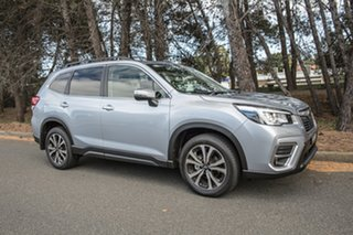 2019 Subaru Forester S5 MY19 2.5i Premium CVT AWD Ice Silver 7 Speed Constant Variable Wagon.