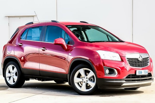 Used Holden Trax TJ MY14 LTZ, 2013 Holden Trax TJ MY14 LTZ Velvet Red 6 Speed Automatic Wagon