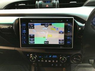 2018 Toyota Hilux GUN126R MY17 SR5 (4x4) Silver Sky 6 Speed Manual Dual Cab Utility