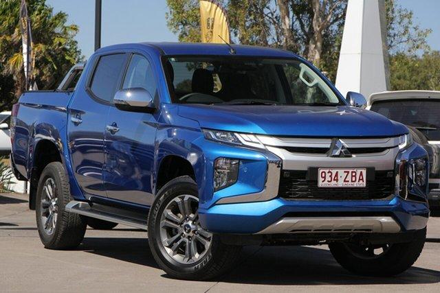Used Mitsubishi Triton MR MY19 GLS Double Cab, 2019 Mitsubishi Triton MR MY19 GLS Double Cab Impulse Blue 6 Speed Sports Automatic Utility