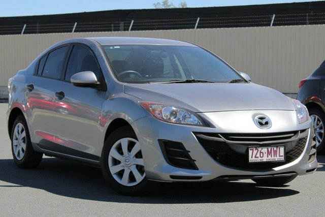 Used Mazda 3 BL10F1 Neo Activematic, 2010 Mazda 3 BL10F1 Neo Activematic Aluminium 5 Speed Sports Automatic Sedan