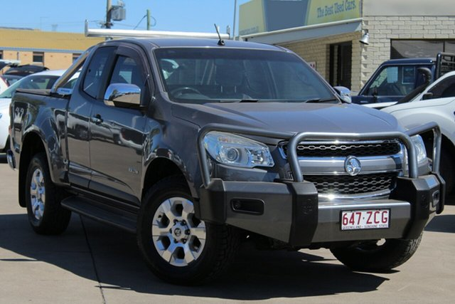 Used Holden Colorado RG MY13 LTZ Space Cab, 2012 Holden Colorado RG MY13 LTZ Space Cab Grey 6 Speed Sports Automatic Utility