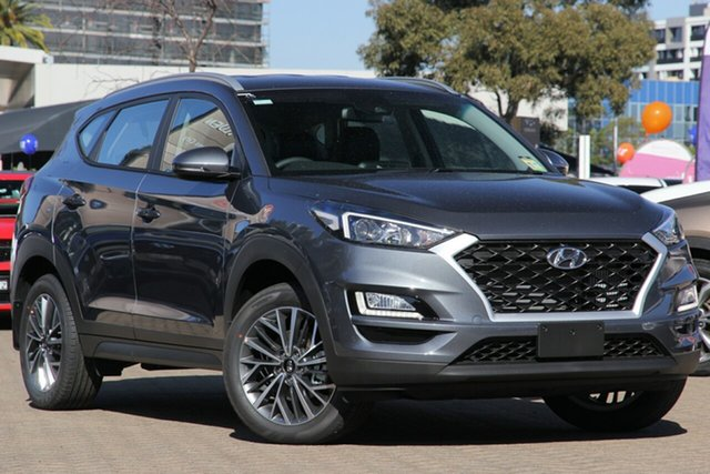 New Hyundai Tucson TL4 MY21 Active X 2WD, 2020 Hyundai Tucson TL4 MY21 Active X 2WD Pepper Gray 6 Speed Automatic Wagon