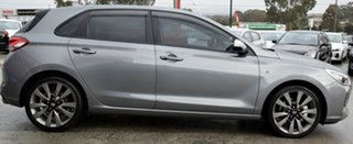 2017 Hyundai i30 PD MY18 SR D-CT Grey 7 Speed Sports Automatic Dual Clutch Hatchback.