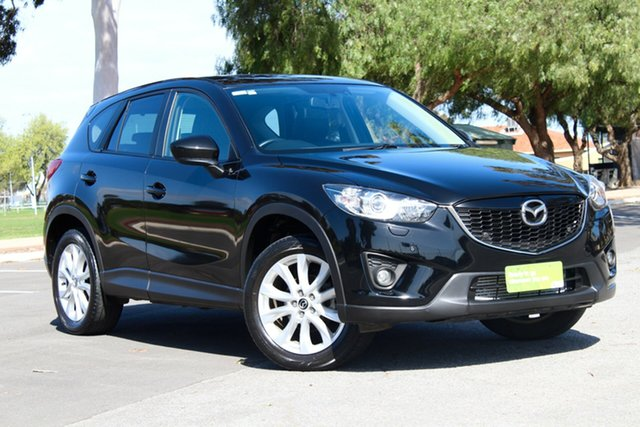 Used Mazda CX-5 KE1021 Grand Touring SKYACTIV-Drive AWD, 2012 Mazda CX-5 KE1021 Grand Touring SKYACTIV-Drive AWD Black 6 Speed Sports Automatic Wagon
