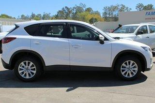 2015 Mazda CX-5 KE1072 Maxx SKYACTIV-Drive Sport Crystal White Pearl 6 Speed Sports Automatic Wagon.
