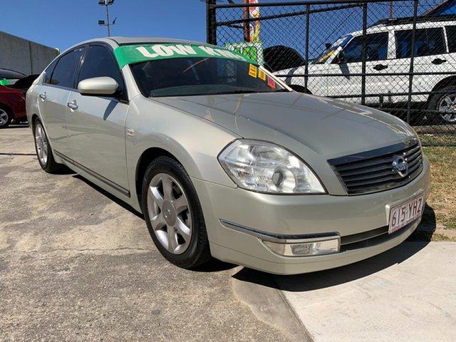Used Nissan Maxima J31 MY06 TI, 2008 Nissan Maxima J31 MY06 TI Gold 6 Speed CVT Auto Sequential Sedan