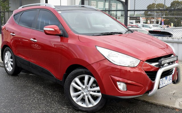 Used Hyundai ix35 LM2 Highlander AWD, 2013 Hyundai ix35 LM2 Highlander AWD Remington Red 6 Speed Sports Automatic Wagon