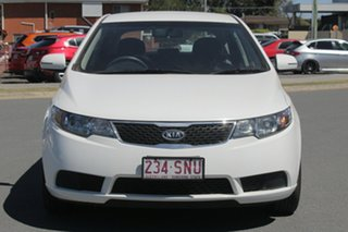 2012 Kia Cerato TD MY12 S White 6 Speed Sports Automatic Hatchback
