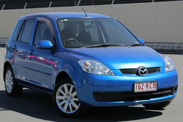 Used Mazda 2 DY10Y2 Maxx, 2006 Mazda 2 DY10Y2 Maxx Winning Blue 5 Speed Manual Hatchback