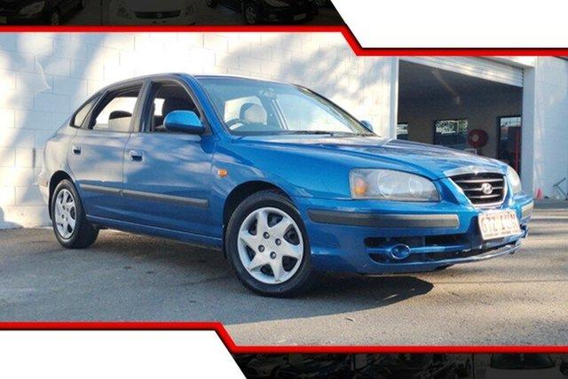 Used Hyundai Elantra XD MY05 FX, 2005 Hyundai Elantra XD MY05 FX Blue 4 Speed Automatic Hatchback